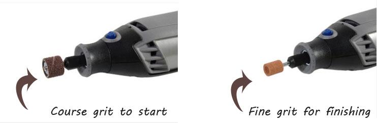 dog nail grinding tool