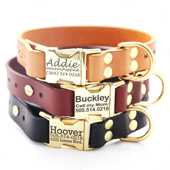 personalized etsy dog collar for shiba inus