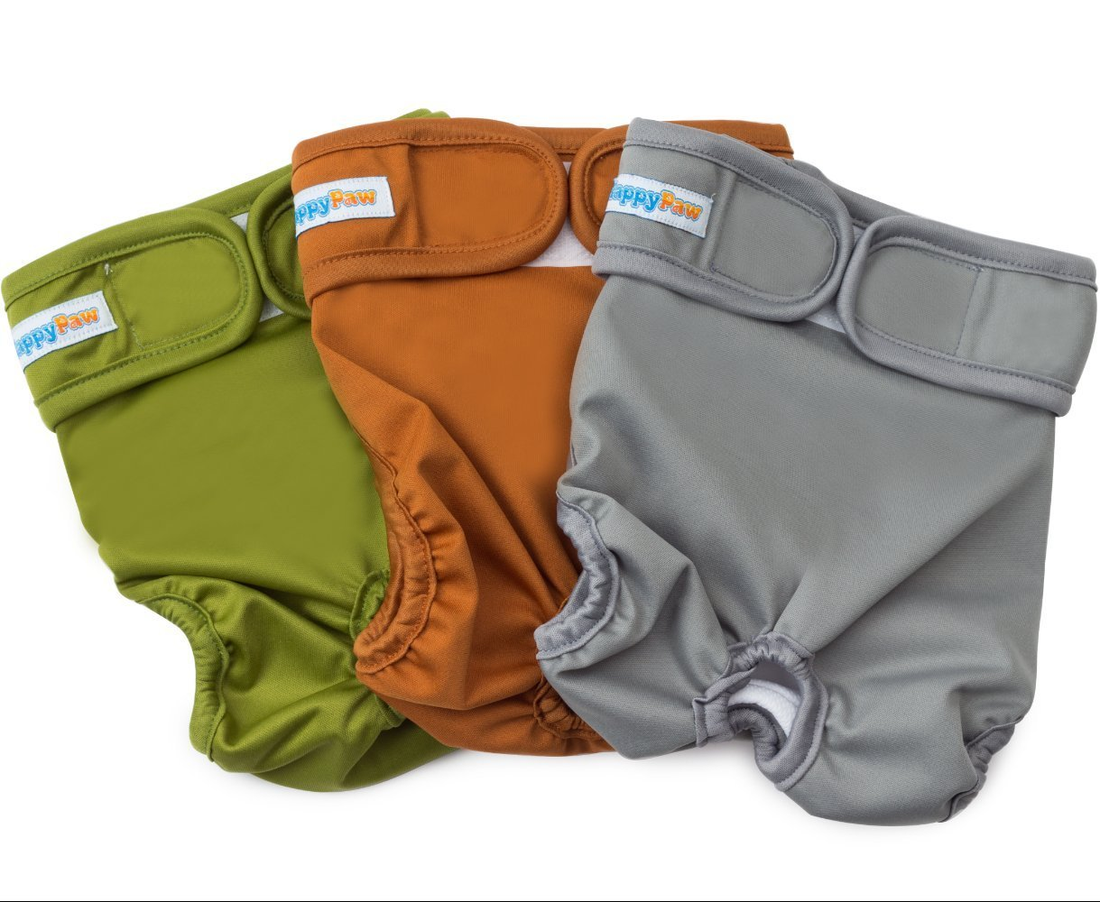 washable and reusable dog diapers