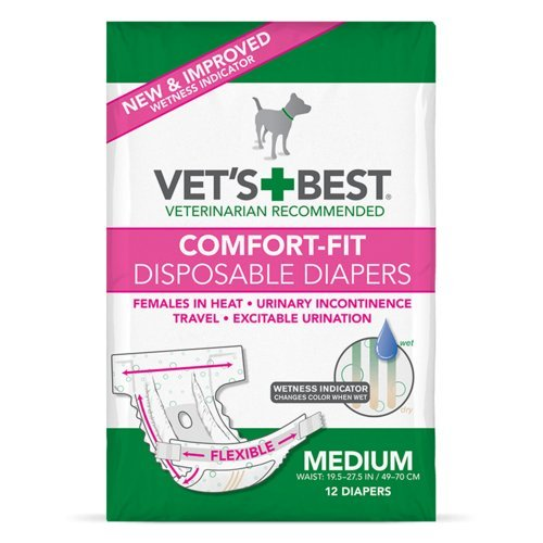 disposable dog diapers by Vets Best