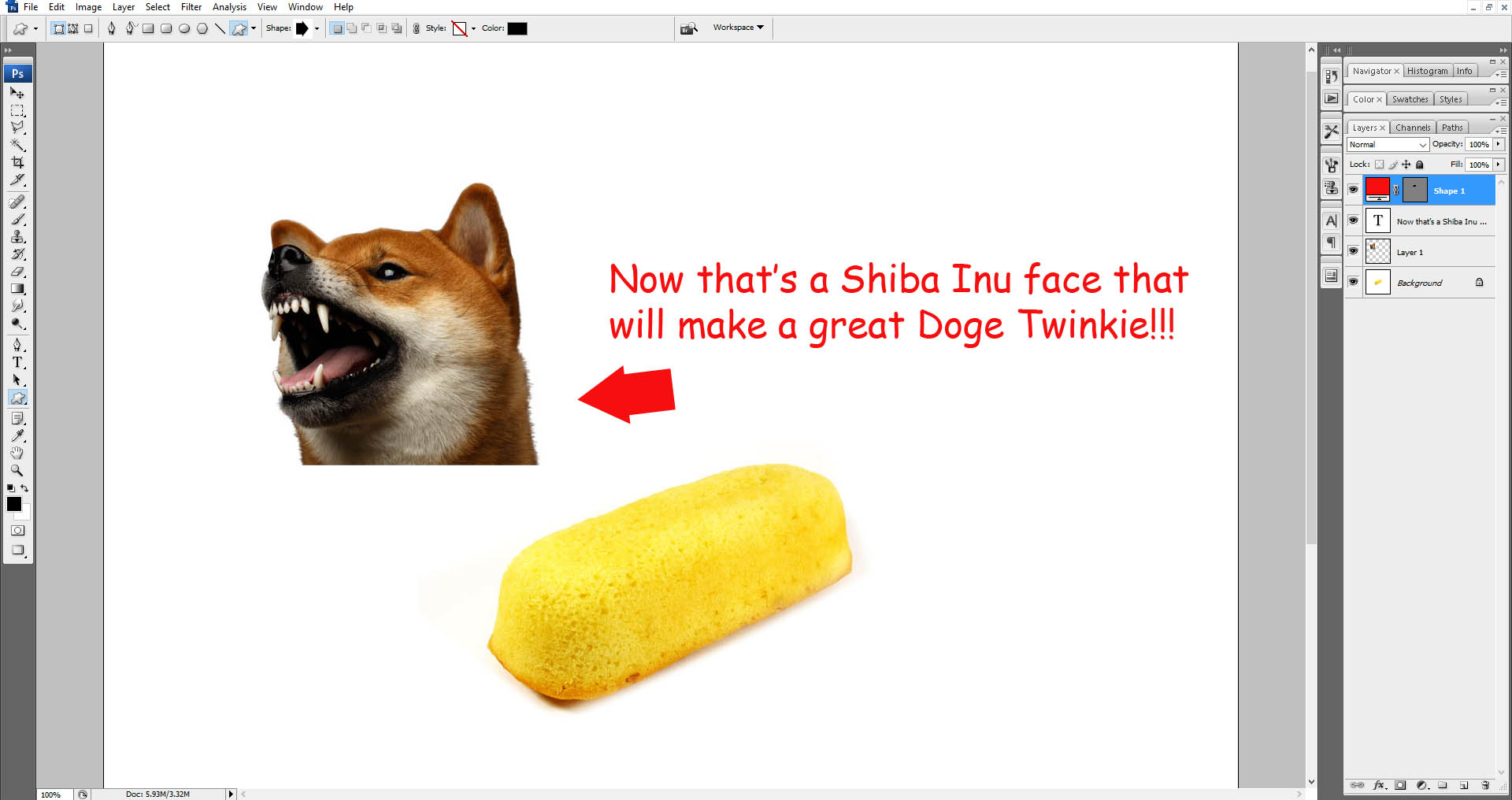 doge twinkie instructions