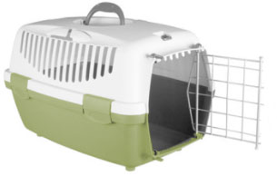 hard-sided pet carrier