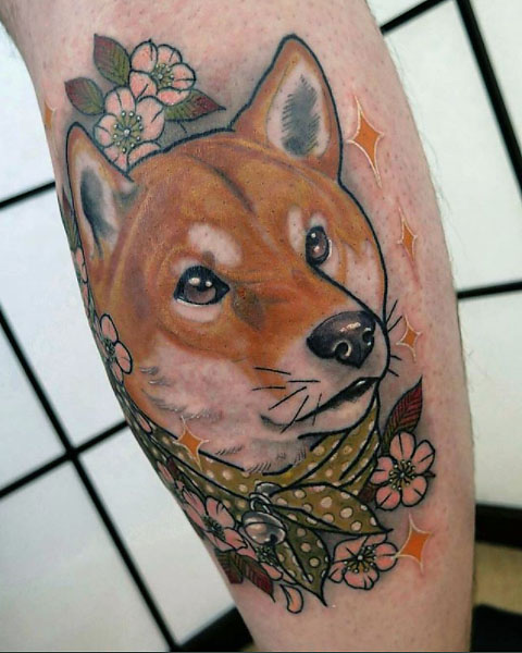 The ultimate guide to shiba inu tattoos my first shiba inu for Jobs that don t allow tattoos