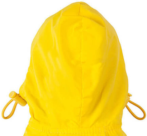 dog raincoat adjustable hood