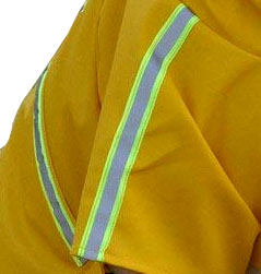 dog raincoat reflective strip