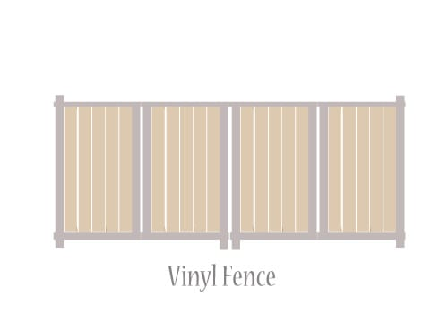 vinyl fence graphic