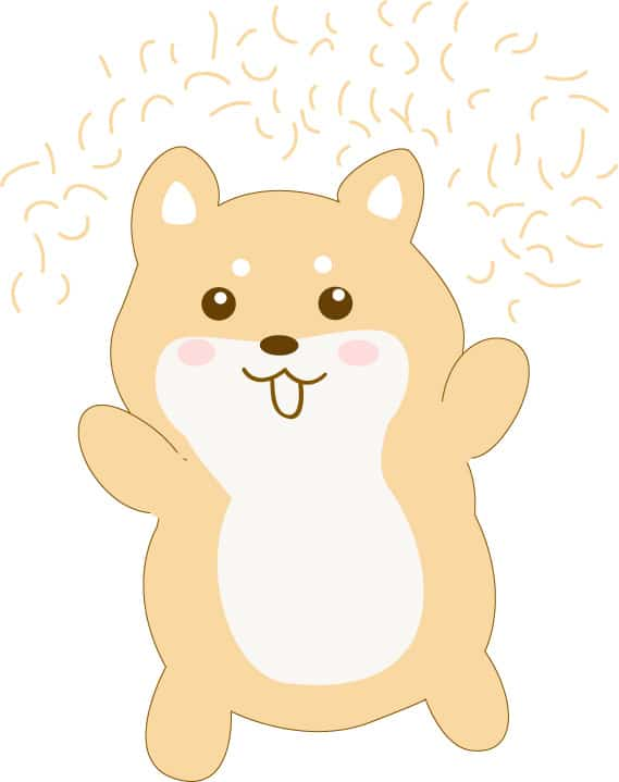 shiba inu fur cartoon comic