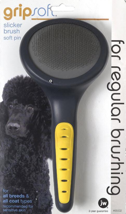 Gripsoft Shiba Inu Pin brush