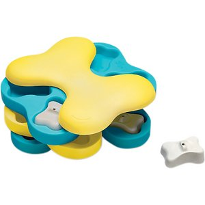 nina ottosson interactive dog toy recommended for shibas