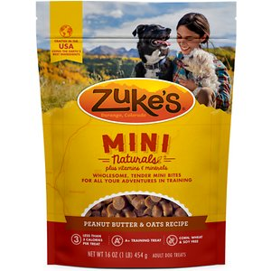 Zuke's peanut butter treats
