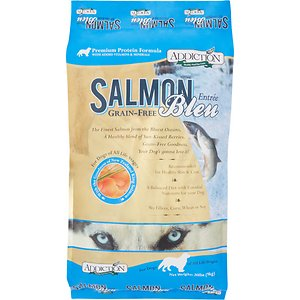 Addiction Salmon Bleu recommend dog food shiba inu