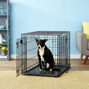 perfect crate for shiba inu