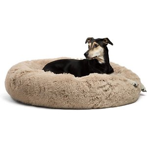 calming dog bolster bed