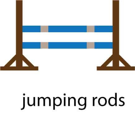 jumping rods illustration