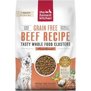 the honest kitchen beef grain free clusters