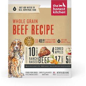 honest kitchen beef dog food