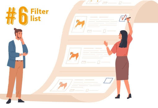 filtering out shiba inu puppy breeders list