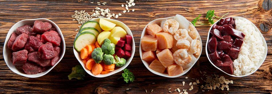 diverse fresh dog food diet for shiba inu